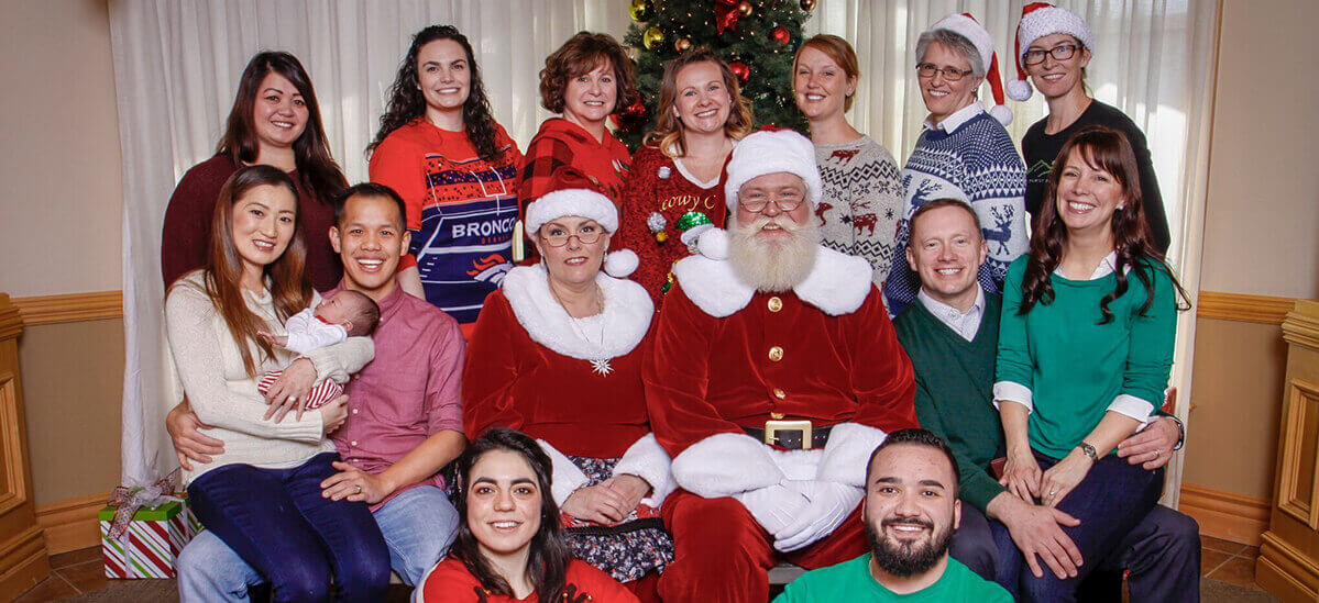 Summit Family Dentistry Staff Holiday Photo 2018